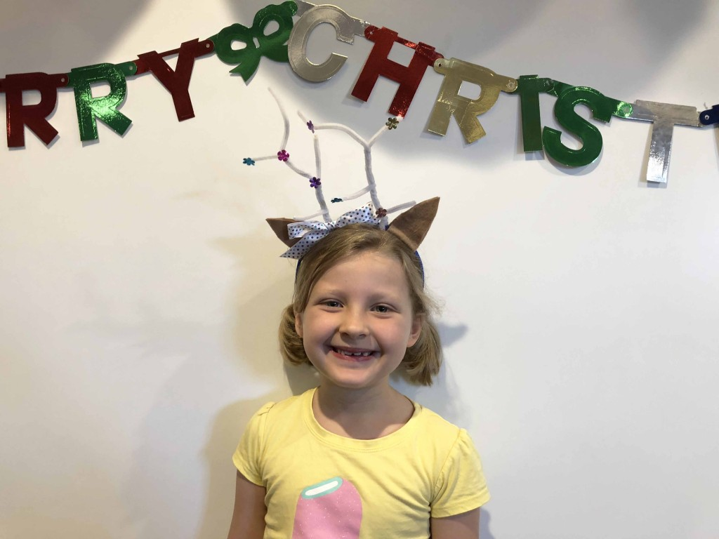 How to make reindeer antlers out of pipe cleaners for Christmas