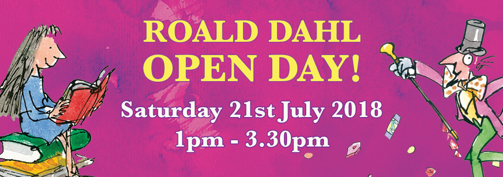 Roald Dahl Open Day at Speak Up Studio