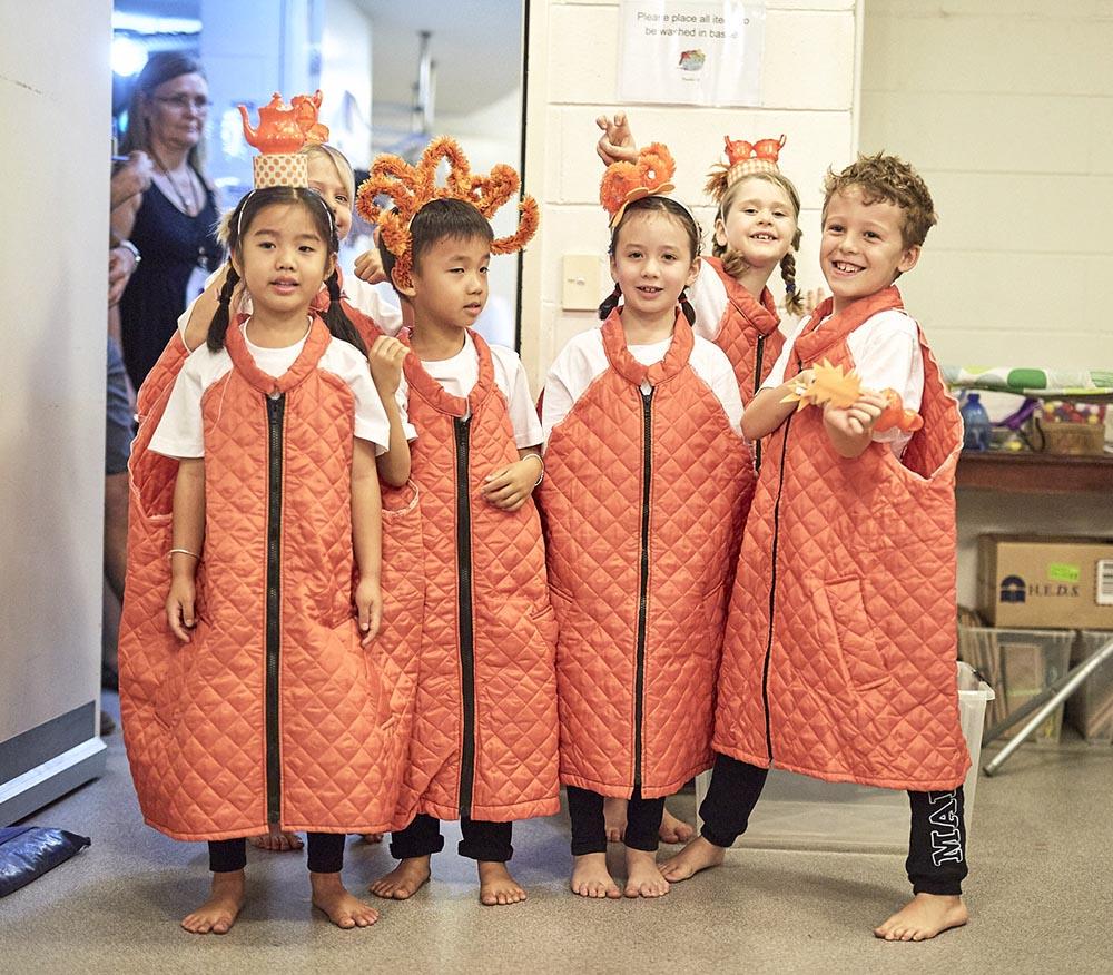 Orange pumpkin Halloween Costume Idea