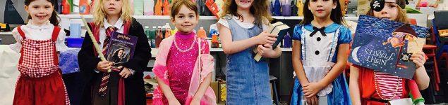 Kids dressed up
