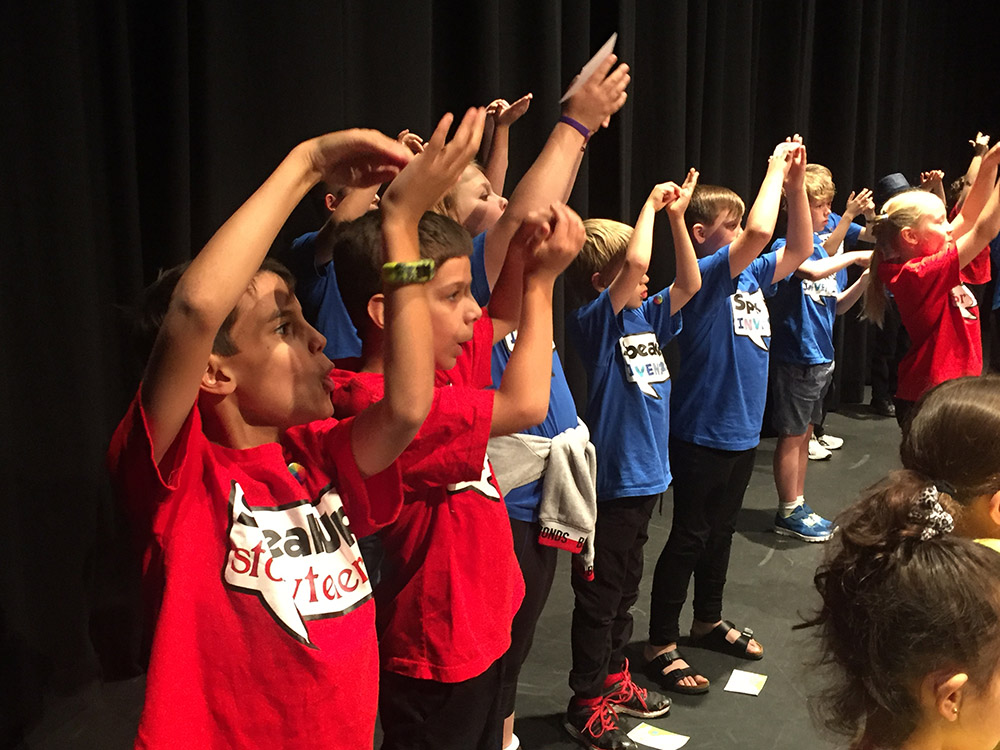 What kids learn performing on stage