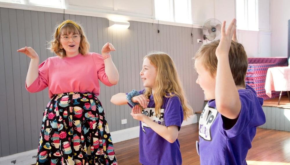 Speak Up Teacher in a positive learning environment