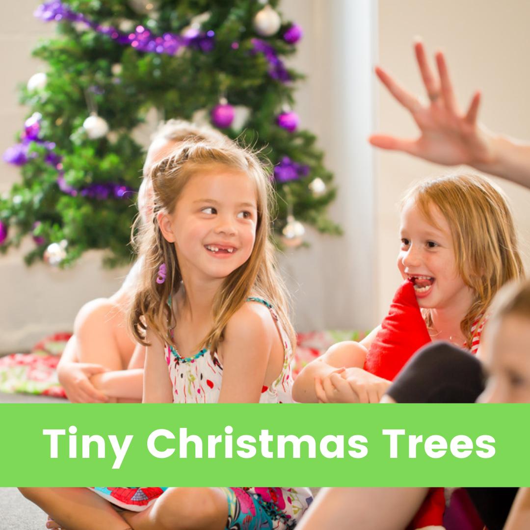 Tiny Christmas Tree Green